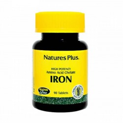 Nature's Plus Iron 40mg - 90 Tablets