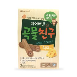 Ivenet Grain Friend Biscuit Snack Bayi 40gr -...