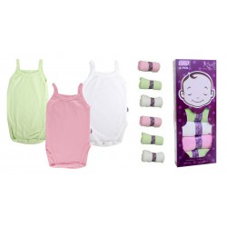 Kazel Tanktop Jumper Girl - 6 Pack