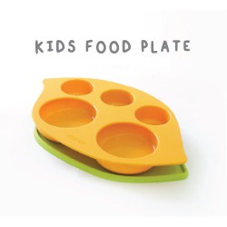 Monee Kids Silicone Food Plate 4m+