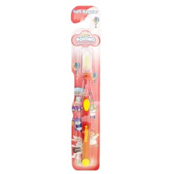 Kodomo Toothbrush Soft Regular  - Color May Vary