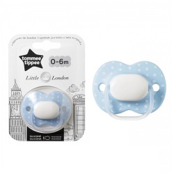 Tommee Tippee Little London Soother 0-6M - Blue