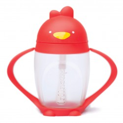 Lollacup Innovative Straw Cup 295 ml / 10 oz - Red