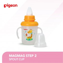 Pigeon Step 2 Mag Mag Training Spout Cup 5m+