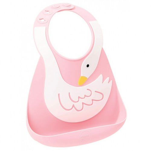 Make My Day Baby Bib - Swan