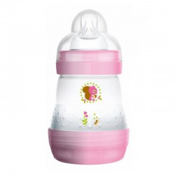 MAM Anti Colic Bottle 160ml - Pink (Motif Beragam)