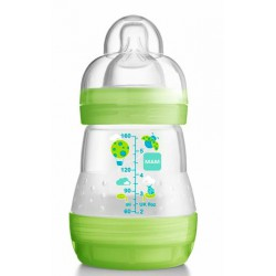 MAM Anti Colic Bottle 160ml - Green Ladybug