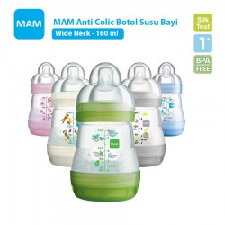 MAM Anti Colic Bottle Botol Susu Bayi 160ml -...