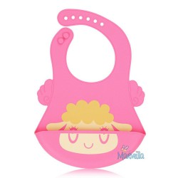 Marveila Silicone Cute Bib - Sheep