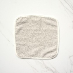 Little Palmerhaus Mason Wash Cloth 4 Pack - Grey