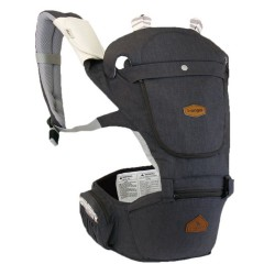 i-Angel Hello Hipseat Carrier - Melange Charcoal