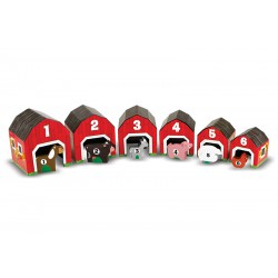 Melissa & Doug House and Animal Blocks
