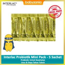 Interlac Probiotik Bubuk Mini Pack - 5 Sachet