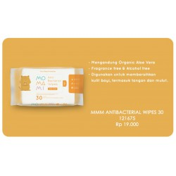 Momami Anti Bacterial Wipes 30 Sheet - Baby Fresh