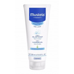 Mustela Bebe Cleansing Gel 2 in 1 Hair and Body -...