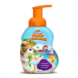 Kodomo Foaming Bodywash Pump Orange -  250 ml