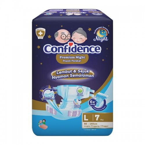 Confidence Popok Dewasa Premium Diaper - L 7