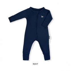 Little Palmerhaus Baby Sleepsuit With 2 Way...