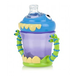 Nuby 1st Sipeez Monster Cup 4m+ - 210ml