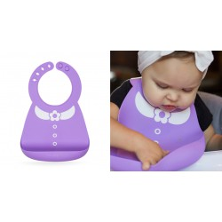 Nuby 3D Silicone Bib - Dress