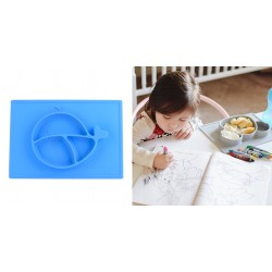 Nuby Large Silicone Placemat 6m+ - Blue Whale
