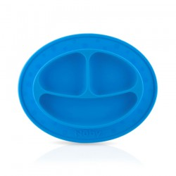 Nuby Sure Grip Miracle Mat 3 Section Plate 6m+ -...