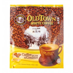 Old Town 2 in 1 White Coffee - Coffee & Creamer (25g x 15 Stick Sachets)