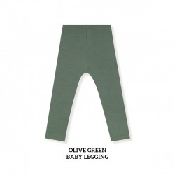 Little Palmerhaus Baby Legging Anak - Olive Green