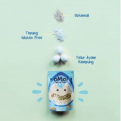 Omo Healthy Snack Toddler 75gr - Original Oatmeal...