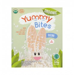 Yummy Bites ORGANIC Rice Cracker Snack Bayi 50 gr...
