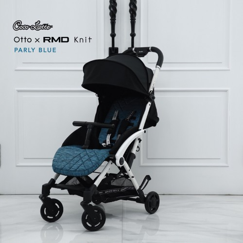 Cocolatte Stroller Bayi CLX199 OTTO X RMD Knit Reversible Seat - Parly Blue