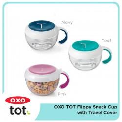 Oxo Tot Flippy Snack Cup Anti Tumpah - Pilih Warna