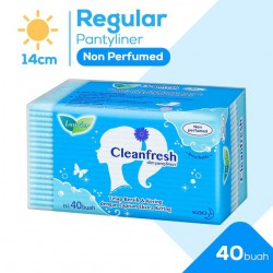 Laurier Pantyliners Cleanfresh Non Perfume - 40S
