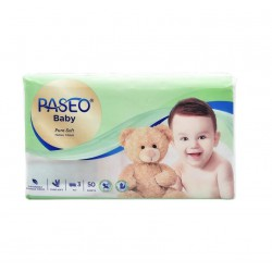 Paseo Baby Pure Soft Facial Tissue Travel Pack...