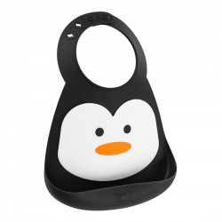 Make My Day Baby Bib - Penguin