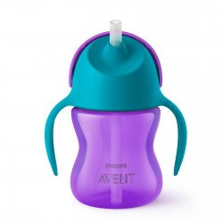 Philips Avent Straw Cup Single Girl 200 ml -...