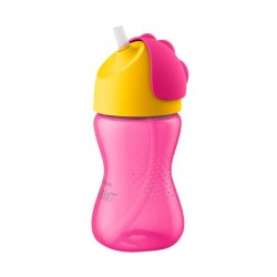 Philips Avent Straw Cup Single Girl 300 ml - Pink...