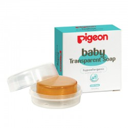 Pigeon Baby Transparent Soap with Case - 80 gr