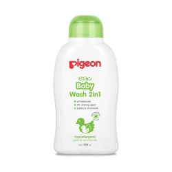 Pigeon Baby Wash 2 in 1 Chamomile - 100ml