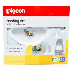 Pigeon Feeding Set with Juicer Feeder