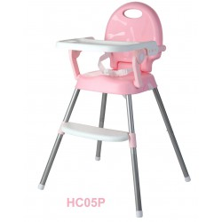 Baby Safe High Chair 3in1 HC05 - Pink