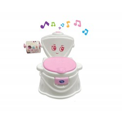 Baby Safe Train To Flush Potty 6m+ - Pink