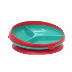 The First Years Inside Scoop Suction Section Plate 12m+ - Green Pink