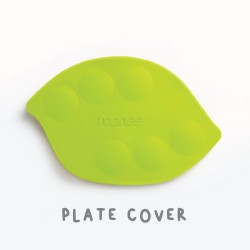 Monee Plate Cover for Kids Food Plate - Green