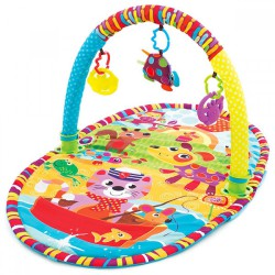 Playgro Baby Playmat 5 in 1 Safari Super Gym 0m+
