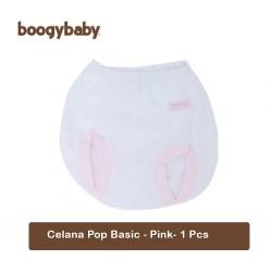 Boogy Baby Pants Basic / Celana Pop Bayi - Pink -...