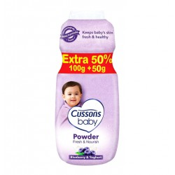 Cussons Baby Powder Fresh and Nourish - 100+50gr