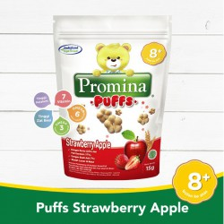 Promina Puffs Strawberry Apple 8m+ - 15gr