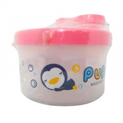 Puku Formula Milk Powder Container - Pink