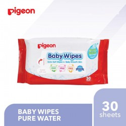 Pigeon Baby Wipes Pure Water - 30 Sheet